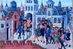 Сбор налогов: 15 век