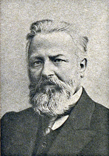 Михаил Степанович Ольминский в 1917 году