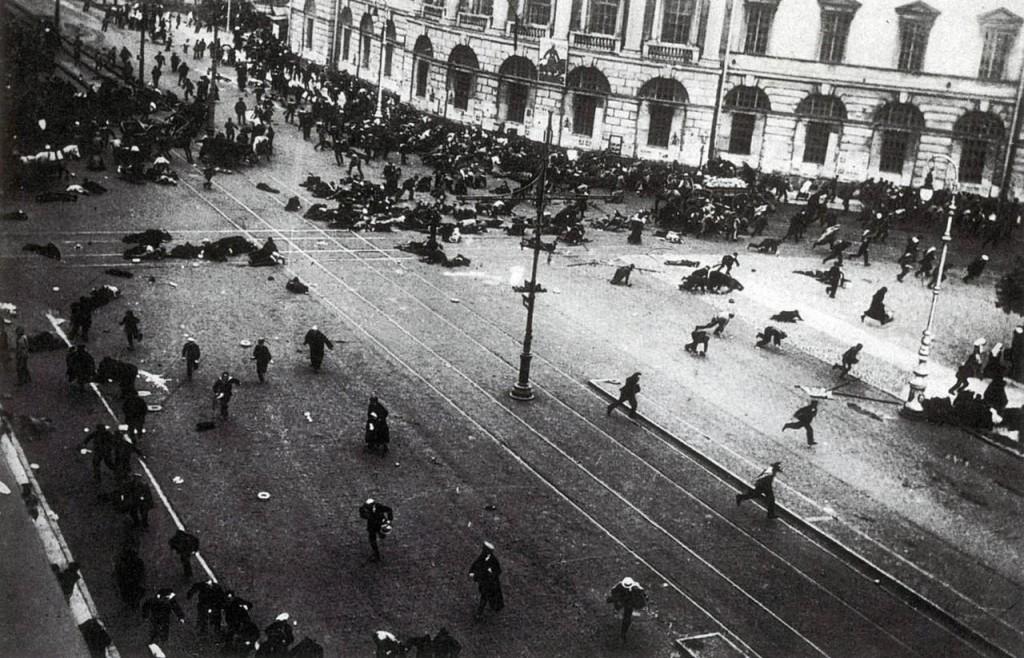 Расстрел демонстрации на Невском проспекте 4 июля 1917