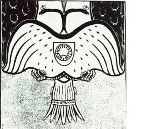 З.И.Гржебин. «Орёл-оборотень, или Политика внешняя и внутренняя». 1906