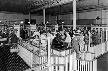 Интерьер первого супермаркета в Мемфисе