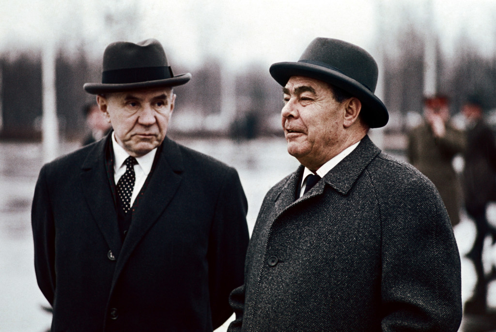 Леонид Брежнев и Алексей Косыгин, 1970 год