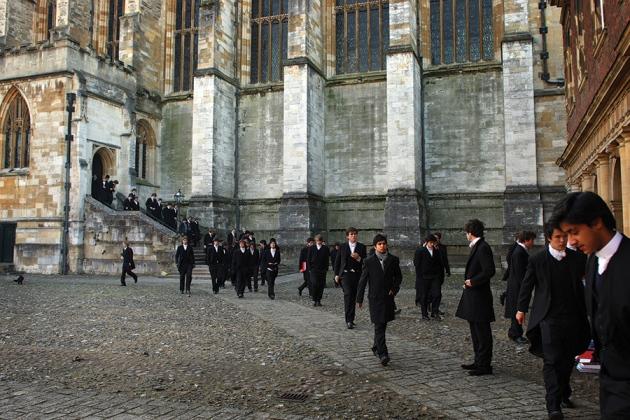 В науке, как и во многих других профессиях, широко представлены лучшие представители студентов и те, кто получил образование в элитных институтах, таких как колледж Итона в Великобритании. Christopher Furlong/Getty