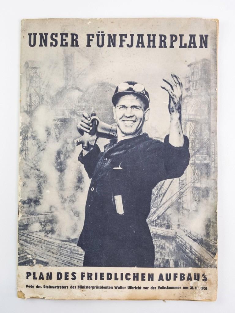 Брошюра о пятилетнем плане ГДР