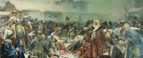 В современной либеральной и «национал-демократической» исторической мифологии Новгород фигурирует как экзистенциальный антагонист «тиранической», «азиатской» Московии, которая якобы...