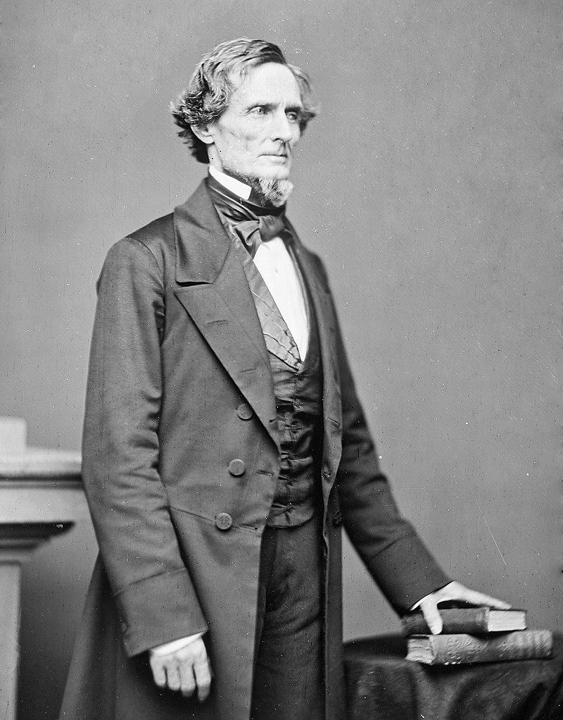 Джефферсон Дэвис, президент КША