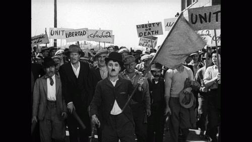 «Новые времена». Реж. Чарльз Чаплин, 1936