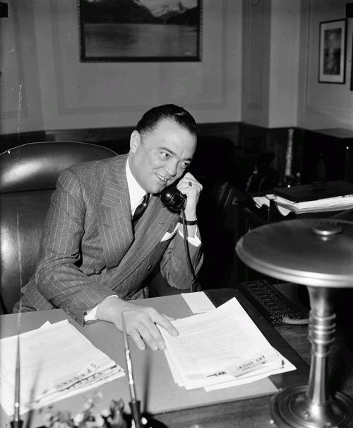 Директор Федерального бюро расследований Джон Гувер