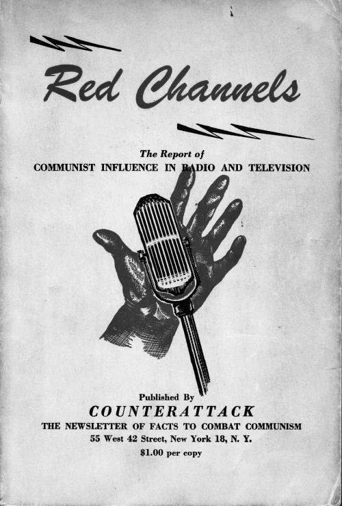 Обложка доклада «Красные каналы» (1950)
