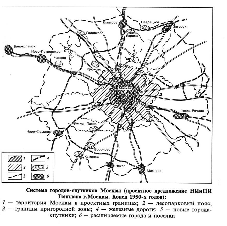 Источник: Г.М. Лаппо. география городов. М.: Владос, 1997. 478 с.