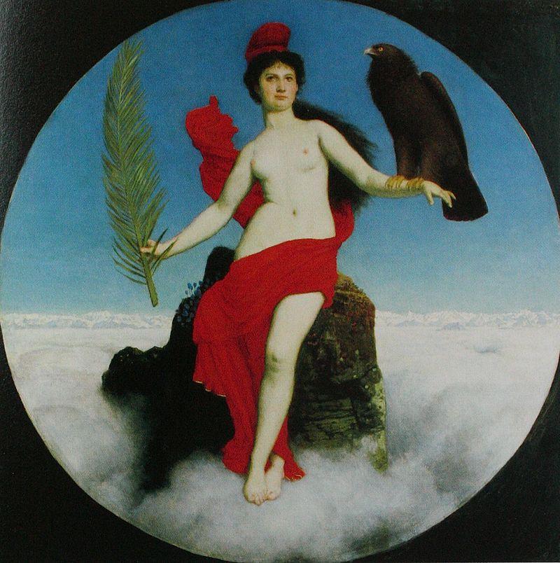 Libertas, Arnold Böcklin, 1891