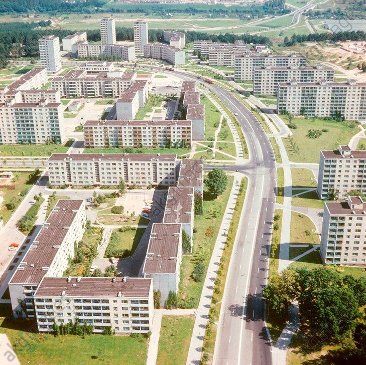 2-4. Магистральные и подъездные улицы, внутридворовые проезды и стоянки - часть комплексного проекта. 1979 год.