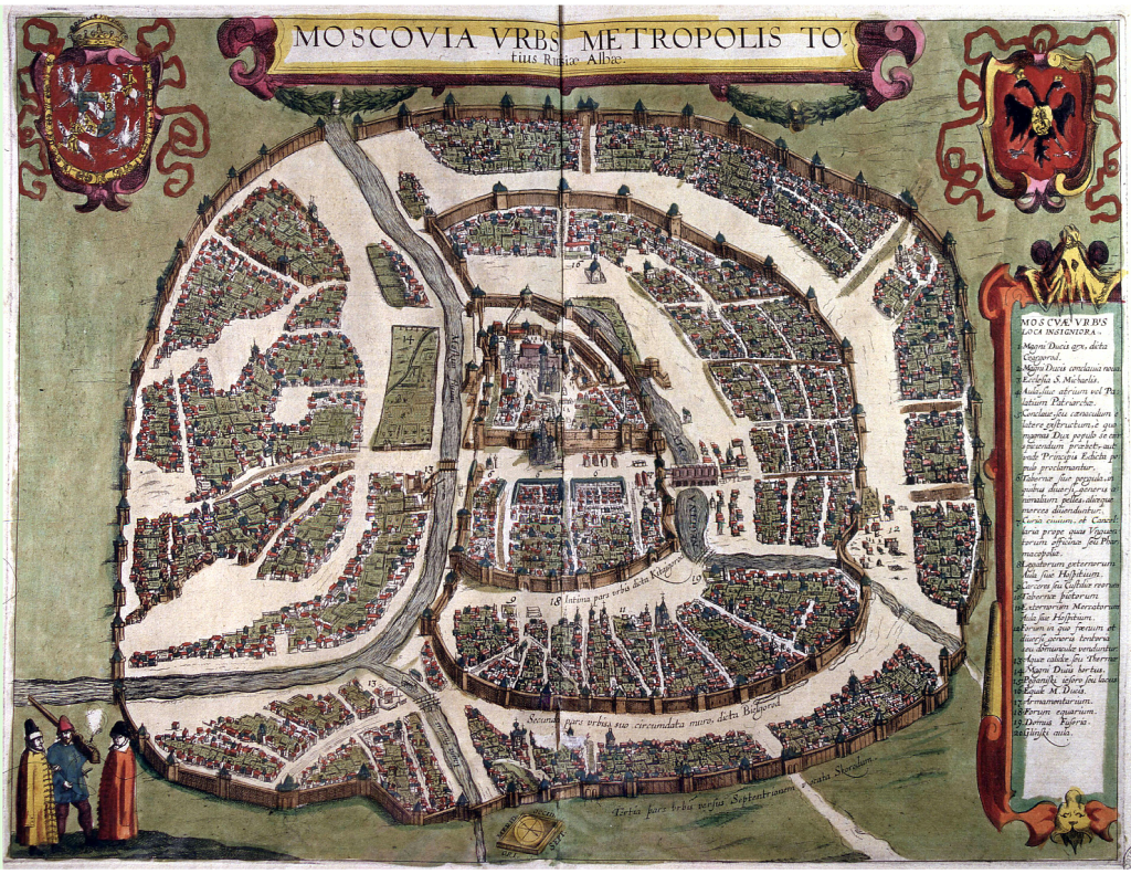 Polish_plan_of_Moscow_1610