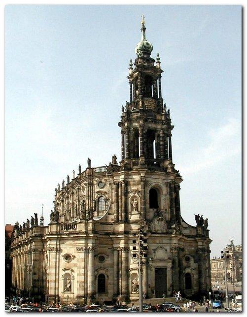 Дрезден, Хофкирхе (Дворцовая церковь)