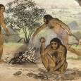 Первые случаи приготовления еды датируются 1 млн лет назад, а повсеместно умение готовить распространилось около 500 тыс. лет назад, но вот регулярно есть мясо наши предки начали гораздо...