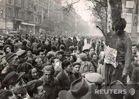 То что осталось от защитников Будапештского горкома партии