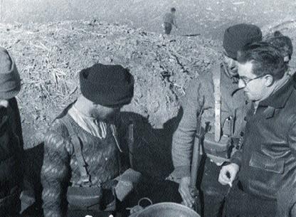 Михаил Кольцов в Испании, 1936 г.
