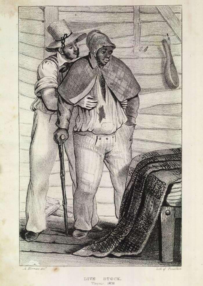 Похищение свободного чернокожего в целях его последующей продаже на аукционе в качестве раба (Юг США, 1830-е годы)