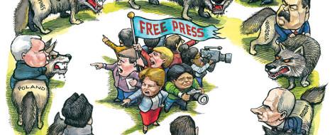 Print PDF Резюме. Несколько историй психологической войны Запада против РФ. Они же используются и против других режимов, позволяющих себе «испытывать крепость поводка», несмотря на зависимое развитие — не ради антиимпериализма, […]