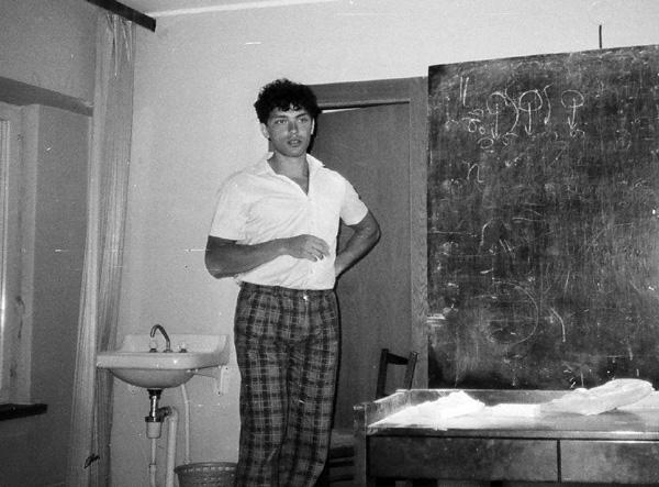 """Б.Е.Немцов, пока физик, конференция """"Сочи-3"""" в 1986 г."""