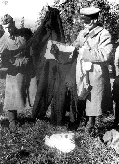 """Херня какая-то, товарищ командир! А говорили """"Хьюго босс! Хьюго босс!"""". Под Ленинградом, сентябрь."""