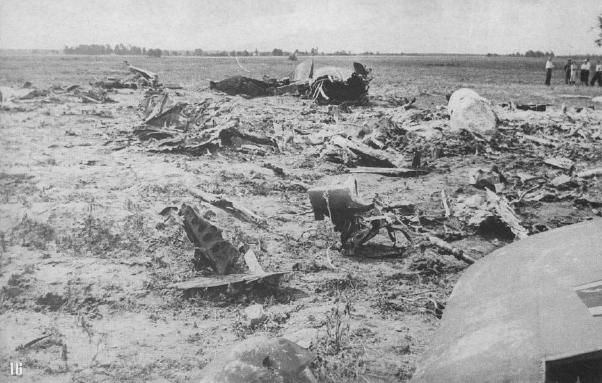 He-111, который таранил ночью Талалихин.
