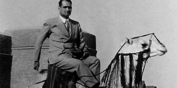 Рудольф Гесс в Ливии, 1937
