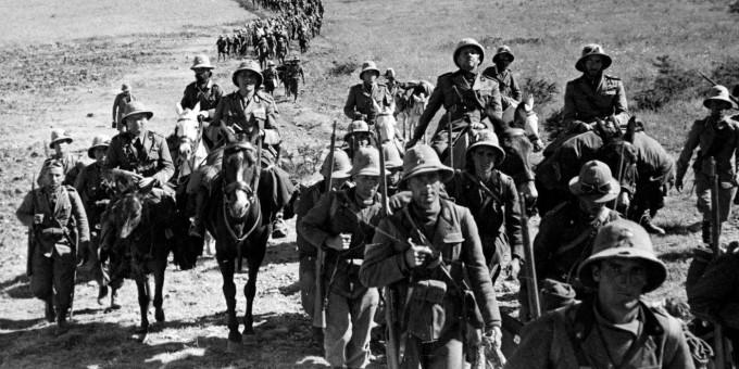 Итальянские войска в Эфиопии