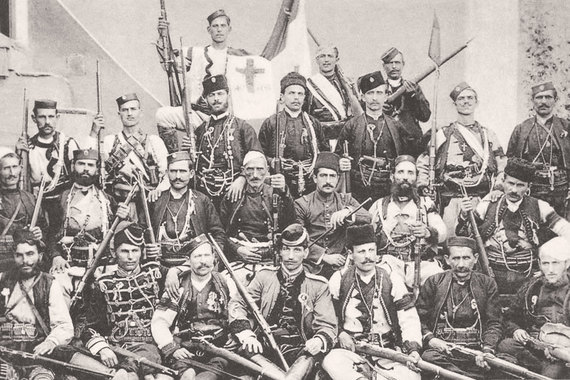 Сербские чётники. По турецким данным, в 1907 г. в Македонии действовало 110 болгарских, 80 греческих, 30 сербских чет.