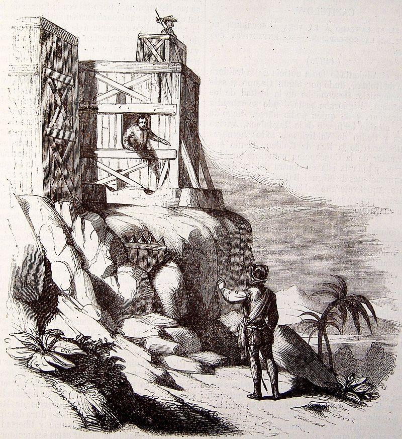 Встреча Франсиско Рольдана в Форте Зачатия в 1497