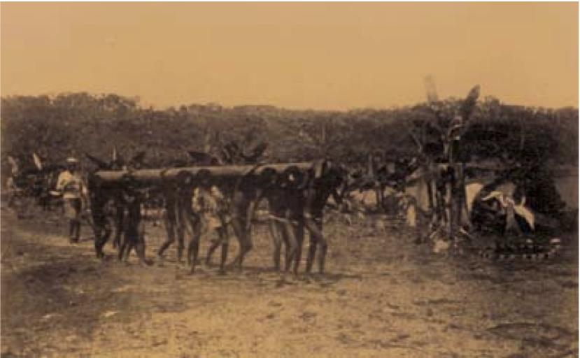 Рабы-индейцы витото в Путумайо, Колумбия. 1911 г.