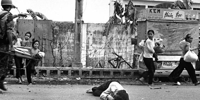 Уличные бои в Сайгоне