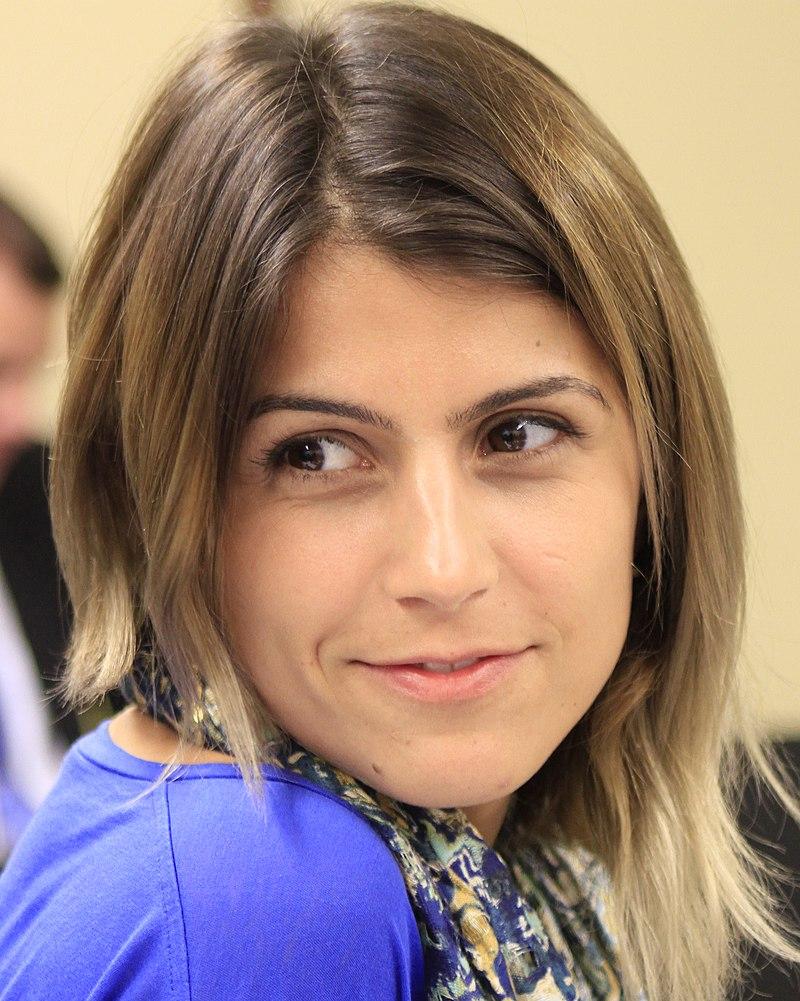 Мануэла д'Авила, одна из руководителей Компартии Бразилии, выдвинута на пост вице-президента в паре с Аддадом