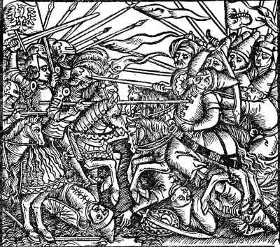 Бой с татарами, 1521 г.