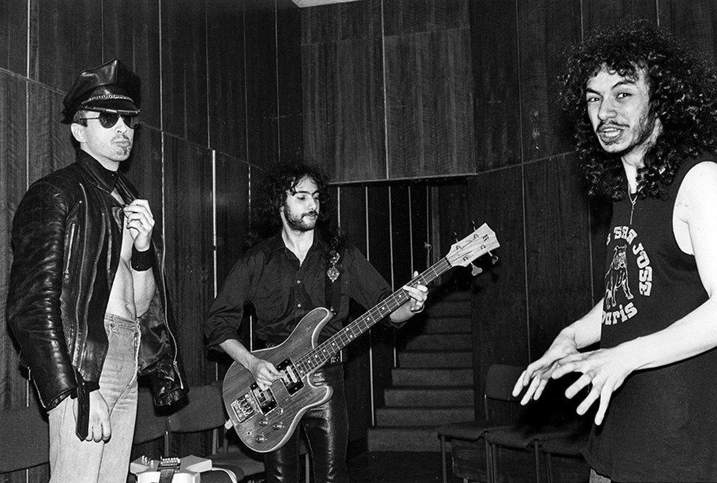 Группа «Шах», 1987 год. Из архива Димы Саббата.