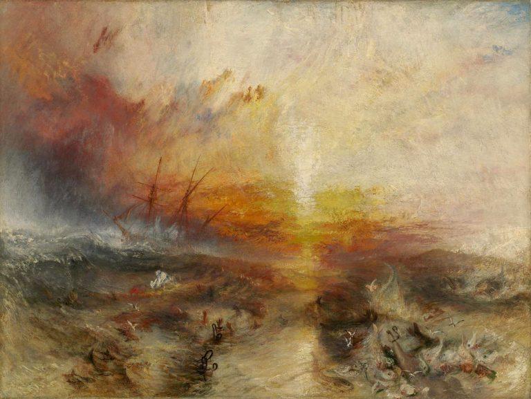 Уильям Тернер, «Корабль рабов». Картина посвящена бойне на «Зонге».