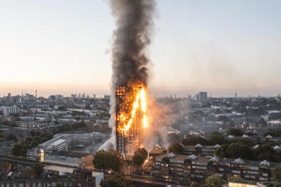 Пожар в высотке Гренфелл