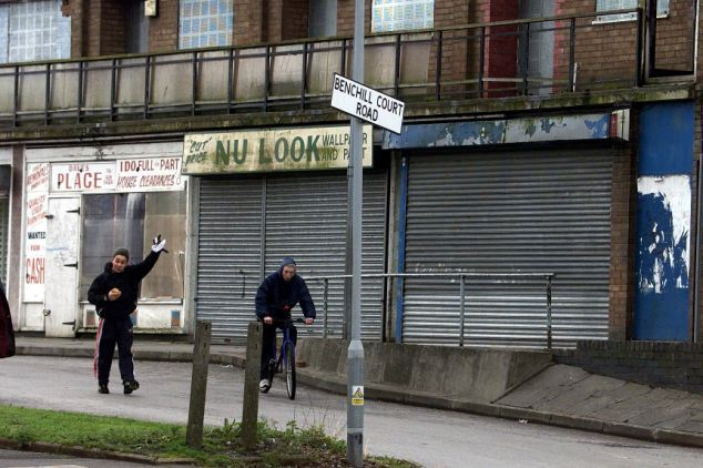 Манчестер, где в некоторых районах 47% детей живет за чертой бедности