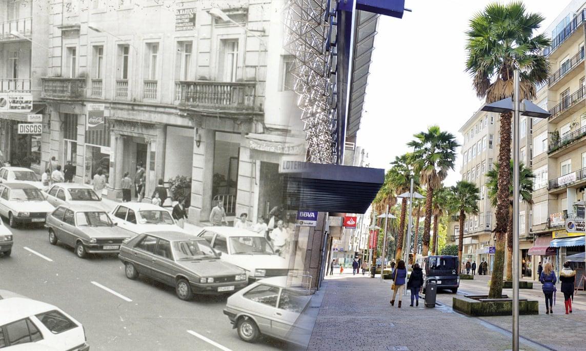 Calle Melato до и после изменений, описываемых в статье