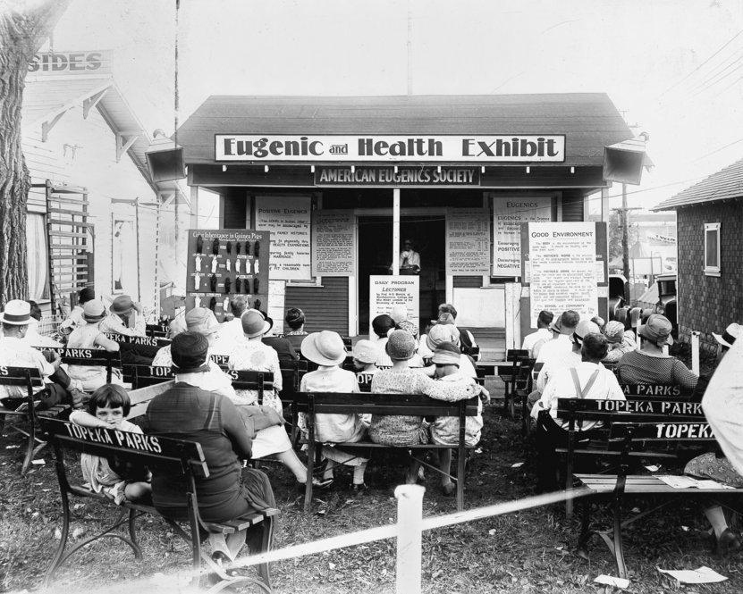 """Выставка """"Евгеника и здоровье"""", 1929 г."""