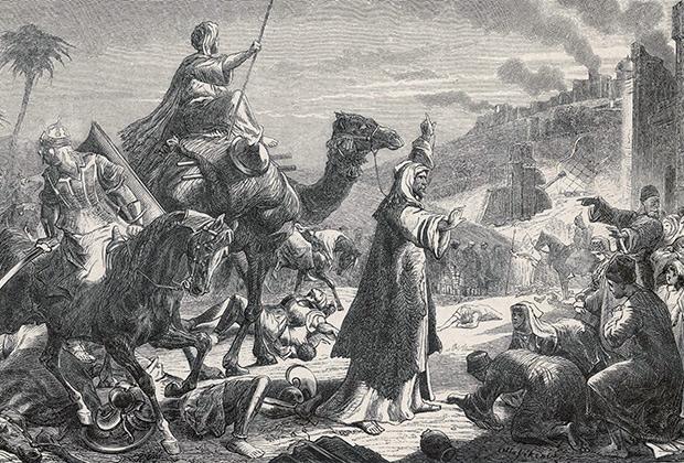 Халиф Омар захватывает Иерусалим