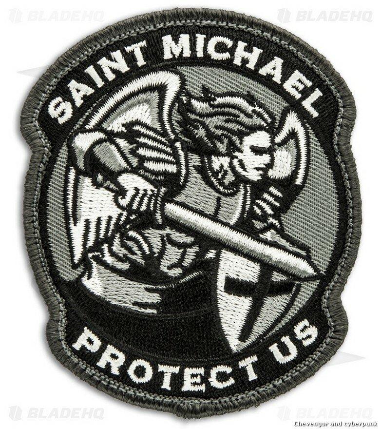 А еще от чертовщины хранит архангел Михаил, архистратиг Небесного Воинства; один из самых популярных патчей у американских военных, кстати