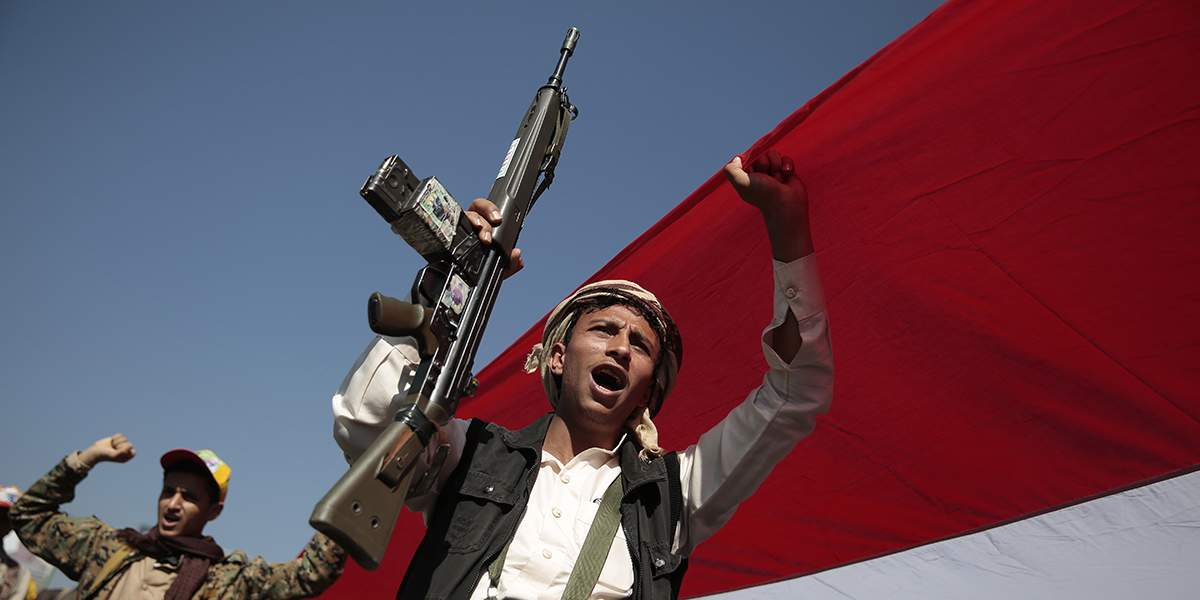 Protests against Saudi-led blockade in Yemen
