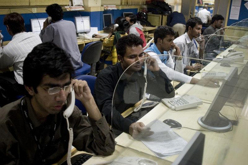 Индийские работники IT-отрасли на аутсорсе