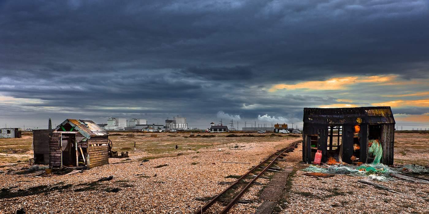 Вид на АЭС «Дандженесс» (фото: Martyn Fordham)