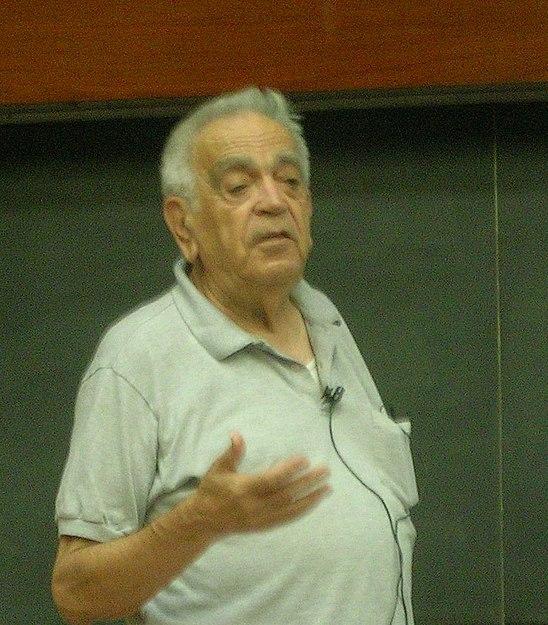 Амос Захави, великий израильский эволюционист, орнитолог, создатель местного общества охраны природы