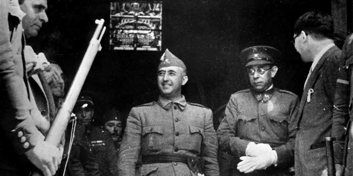 Франсиско Франко и Эмилио Мола