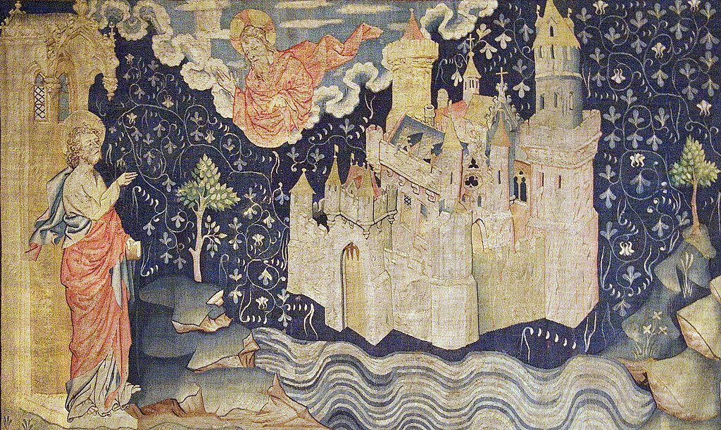 Видение Небесного Иерусалима Иоанном Богословом, Анжерский апокалипсис
