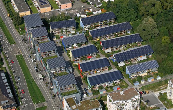 """""""Солнечный посёлок"""" (Solarsiedlung) под Фрайбургом"""