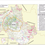 Оценка степени фрагментации местообитаний диких животных искусственными рубежами на примере Московского региона
